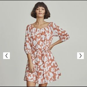 Elizabeth and James Fit and Flare Mini Dress